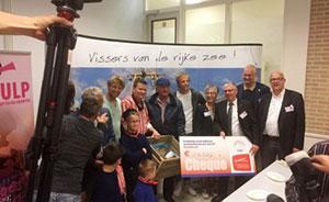 € 102.000 voor eerste kistje meischol voor Schreeuw om Leven