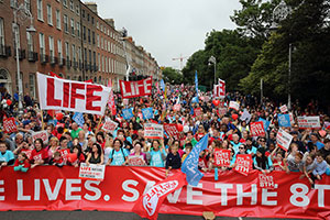 Rally for Life in Dublin op 1 juli 2017