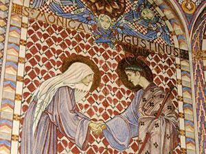 H. Monica en H. Augustinus