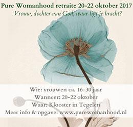 Pure Womanhood - Retraite 20-22 oktober 2017
