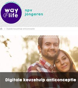 NPV Digitale keuzehulp anticonceptie