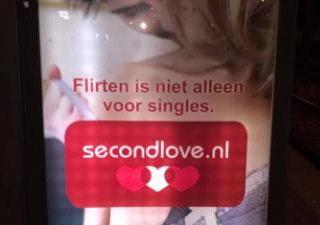 Second Love billboard