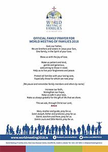 Gebed Wereldgezinsdagen 2018